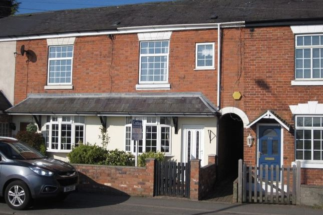Thumbnail Terraced house to rent in Alcester Road, Studley