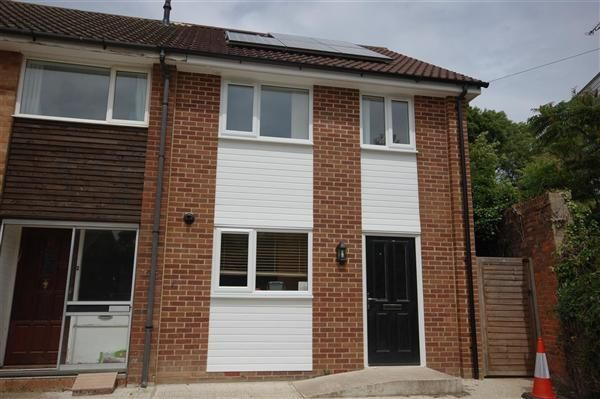 Thumbnail End terrace house to rent in Tyler Hill Road, Blean, Canterbury