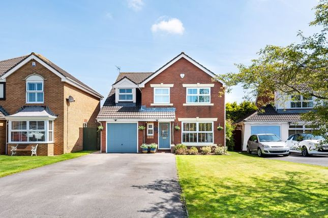 Thumbnail Detached house for sale in Windsor Park, Magor, Monmouthshire