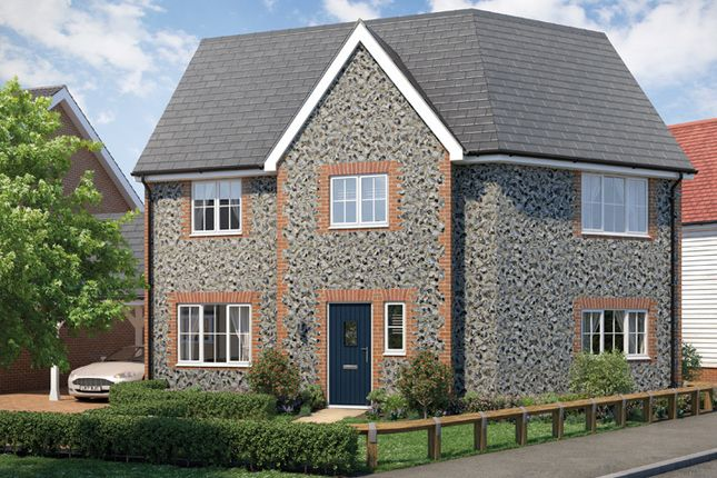 """Thumbnail 3 bedroom property for sale in """"The Kensington"""" at Yarrow Walk, Red Lodge, Bury St. Edmunds"""