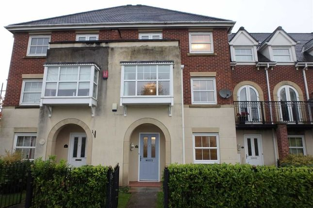 Thumbnail Town house to rent in Sommerville Walk, Chapelford Village, Warrington, Cheshire
