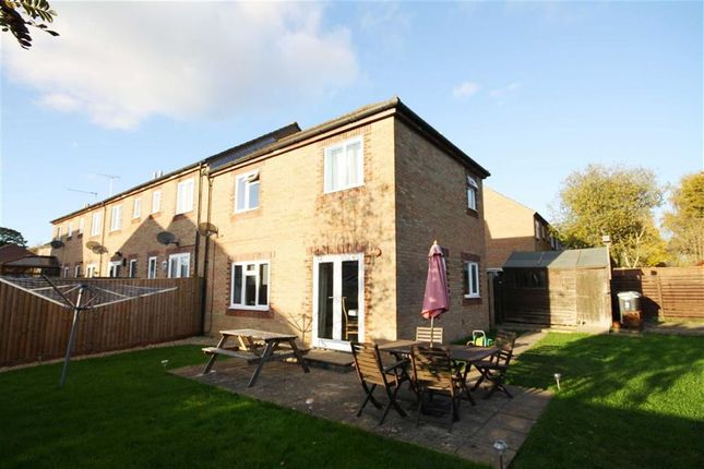 Thumbnail End terrace house for sale in Abbey Close, Chippenham, Wiltshire