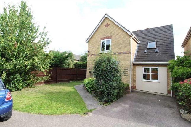 Thumbnail Detached house for sale in Derwent Road, Highwoods, Colchester
