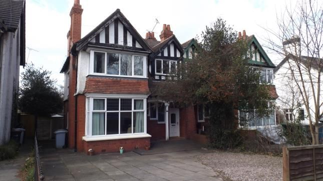 Thumbnail Semi-detached house for sale in Crewe Road, Wistaston, Crewe, Cheshire