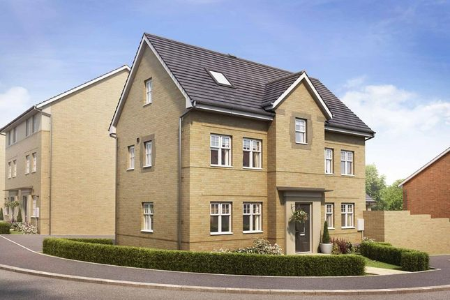 "Thumbnail Detached house for sale in ""Hesketh"" at Marsh Lane, Harlow"