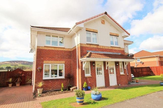 Thumbnail Semi-detached house for sale in Willowbank Gardens, Bonhill, Alexandria