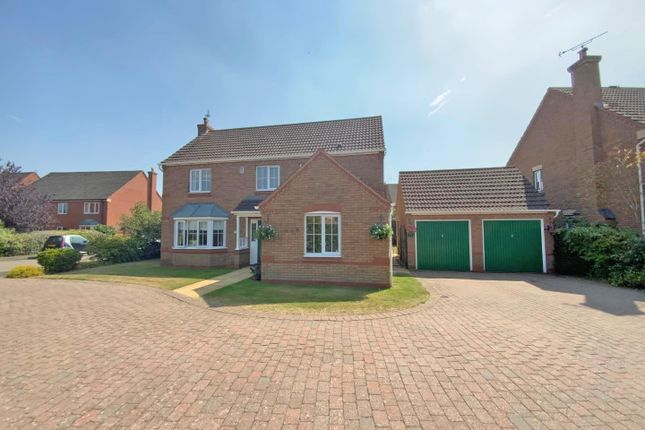 Thumbnail Detached house for sale in Edwin Close, Cawston, Rugby