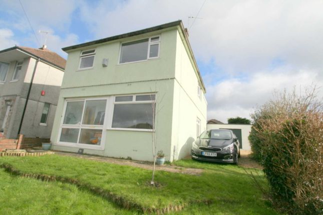 Thumbnail Detached house for sale in Woodford Avenue, Plympton, Plymouth