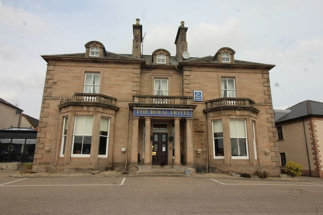Thumbnail Hotel/guest house for sale in The Royal Hotel, Station Road, Elgin