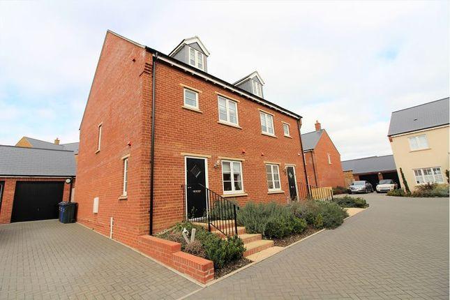 Thumbnail Semi-detached house to rent in Claydon Close, Banbury