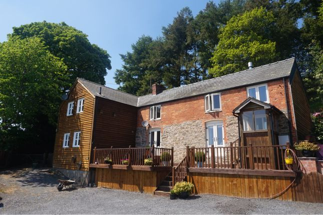 Thumbnail Detached house for sale in Castle Caereinion, Welshpool