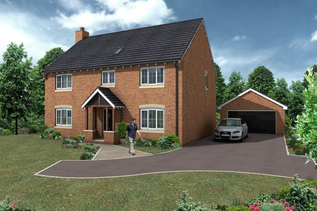 Thumbnail Detached house for sale in Hollinwood, Whixall, Whitchurch