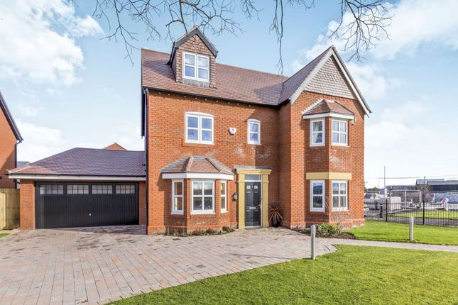 Thumbnail Detached house for sale in Pulford Road, Arclid, Sandbach