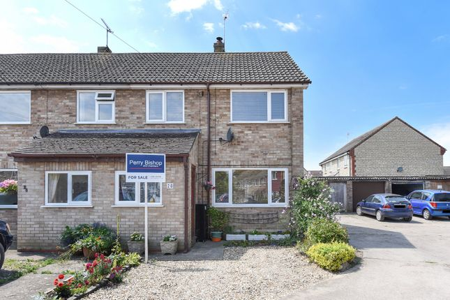 Thumbnail End terrace house for sale in Manor Crescent, Stanford In The Vale, Faringdon