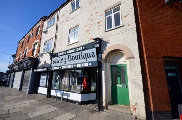 Thumbnail Flat to rent in High Street, Cleethorpes