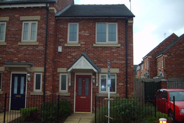 Thumbnail Semi-detached house to rent in Moor Lane, Mansfield