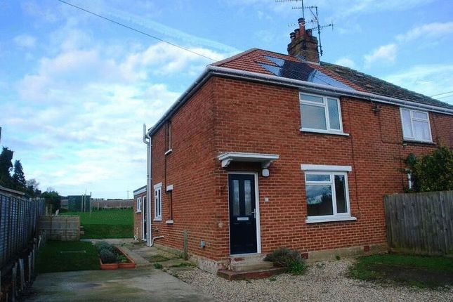Thumbnail Semi-detached house to rent in The Pightle, Burnham Thorpe, King's Lynn