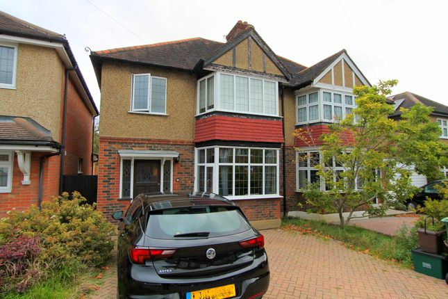 Thumbnail Semi-detached house for sale in Newbolt Avenue, Cheam