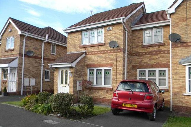 Thumbnail Semi-detached house to rent in Hinchley Way, Pendlebury, Swinton, Manchester