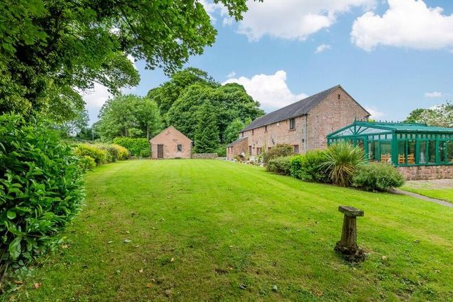 Thumbnail Equestrian property for sale in Rudyard, Leek