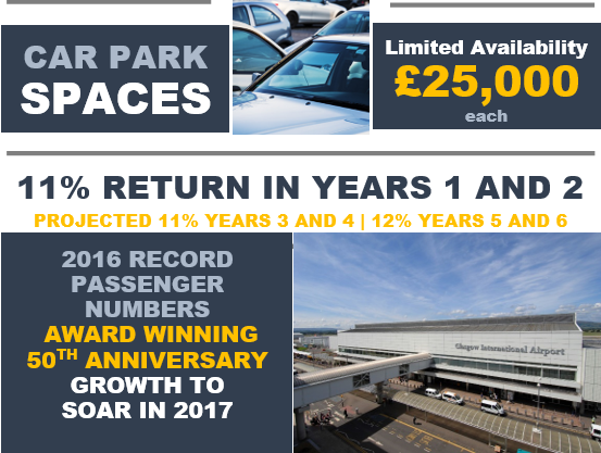 Parking/garage for sale in Glasgow International Airport, Glasgow