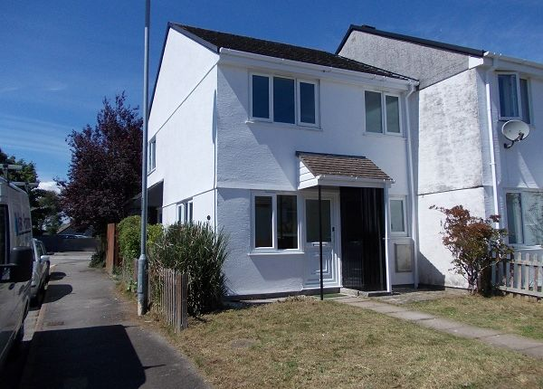 Thumbnail End terrace house to rent in Tamar Close, Callington