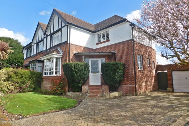 Thumbnail Semi-detached house for sale in St. Catherines Way, Fareham