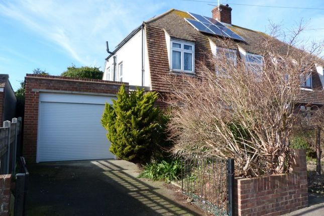 Thumbnail Semi-detached house for sale in Dalmaney Close, Broadstairs