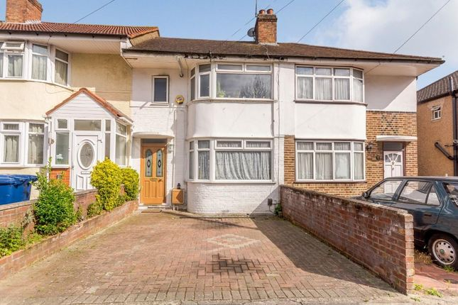 Thumbnail Terraced house for sale in Girton Road, Northolt