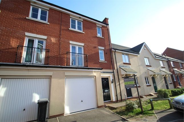 Thumbnail Town house for sale in Meridian Rise, Ipswich, Suffolk
