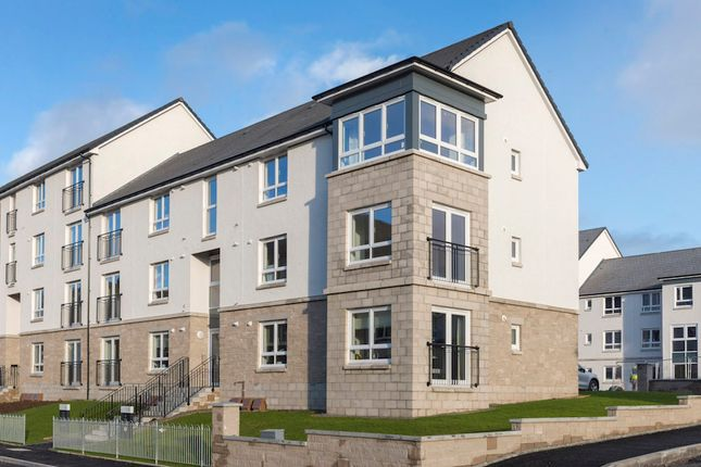 "Thumbnail Flat for sale in Plot 90, Top Floor, ""Cair Apartment"" Castlegate Avenue, Dumbarton"
