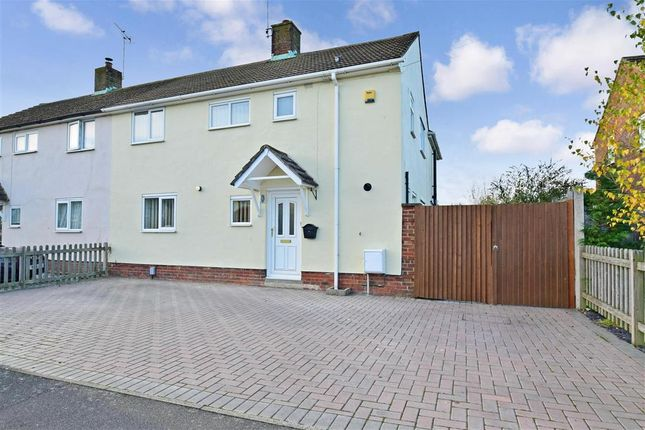 Thumbnail Semi-detached house for sale in Warwick Road, Kennington, Ashford, Kent