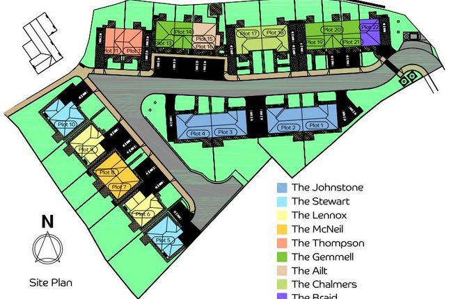 Site Plan.Png of Airlie View, Alyth, Blairgowrie PH11