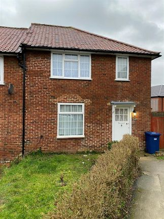 Thumbnail Terraced house to rent in Barnfield Road, Burnt Oak, Edgware