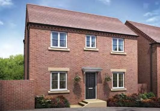 """Thumbnail Detached house for sale in """"The Bowood"""" at Darrall Road, Lawley Village, Telford"""