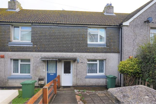 Thumbnail Terraced house to rent in Chywoone Avenue, Penzance