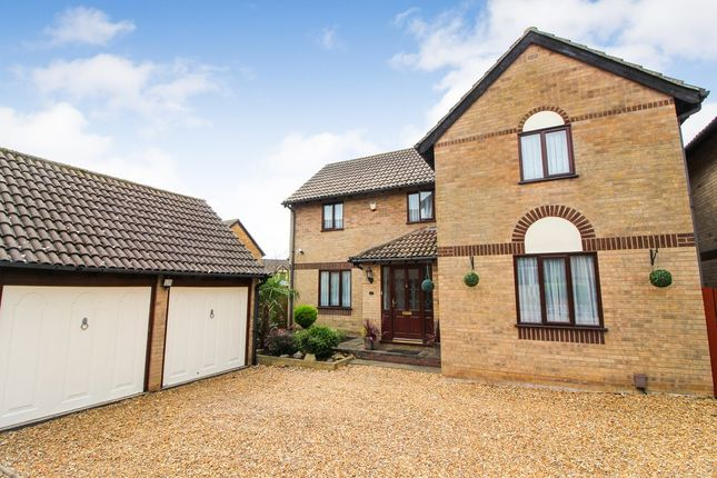 Thumbnail Detached house for sale in Aitken Close, Sprowston, Norwich