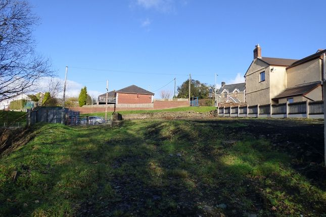 Thumbnail Land for sale in Building Plot Maes Mawr Road, Crynant, Neath.