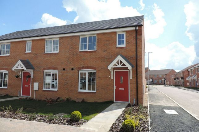 Thumbnail End terrace house to rent in Market Rasen Drive, Bourne, Lincolnshire