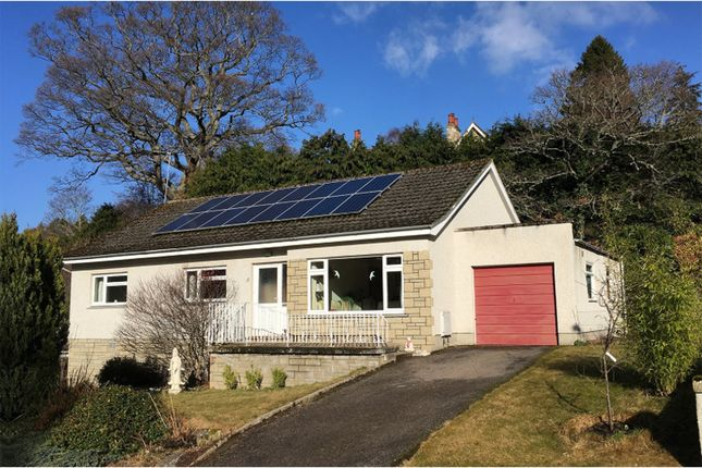 Thumbnail Detached bungalow for sale in St. Leonards Drive, Forres