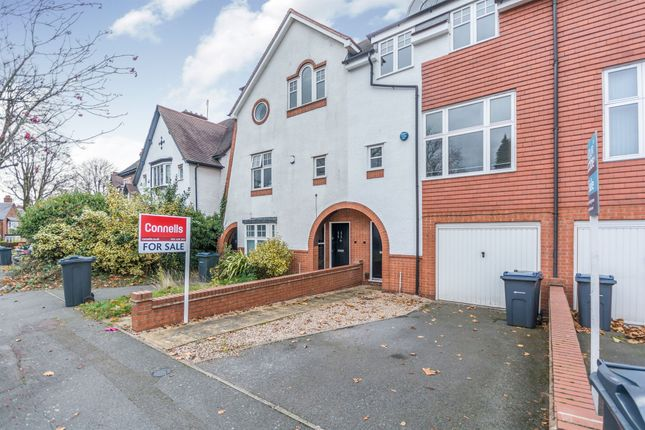 Thumbnail Town house for sale in Carisbrooke Road, Edgbaston, Birmingham