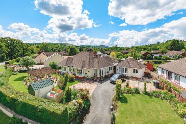 Thumbnail Detached bungalow for sale in Golf Links Road, Builth Wells