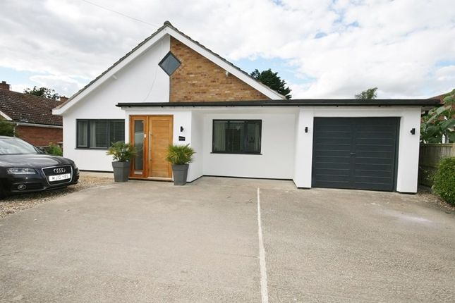 Thumbnail Detached bungalow for sale in Wretham Road, Great Hockham, Thetford