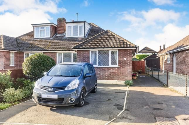 Thumbnail Bungalow for sale in Rushington, Southampton, Hampshire