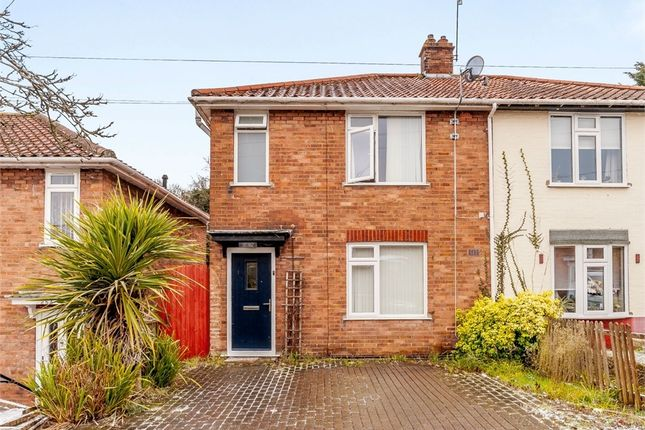 Thumbnail Semi-detached house for sale in Gertrude Road, Norwich, Norfolk