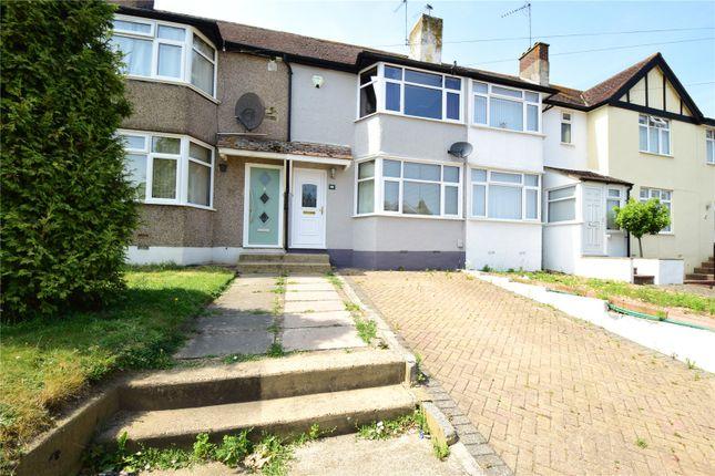 Thumbnail Terraced house for sale in Kingswood Avenue, Swanley, Kent