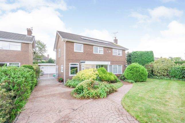 Thumbnail Detached house for sale in Moorland Park, Heswall, Wirral