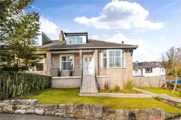 Thumbnail Semi-detached bungalow for sale in Kingsbridge Drive, Kings Park, Glasgow