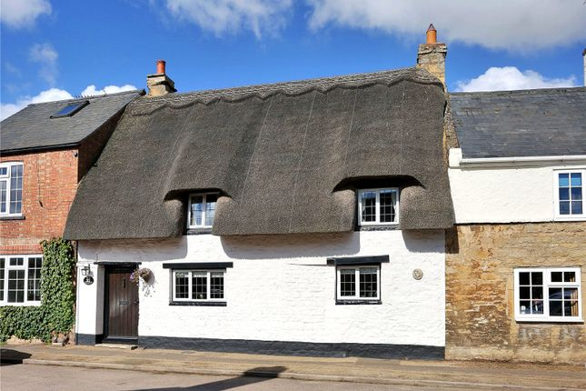 Thumbnail Terraced house for sale in Station Road, Nassington, Peterborough, Northamptonshire