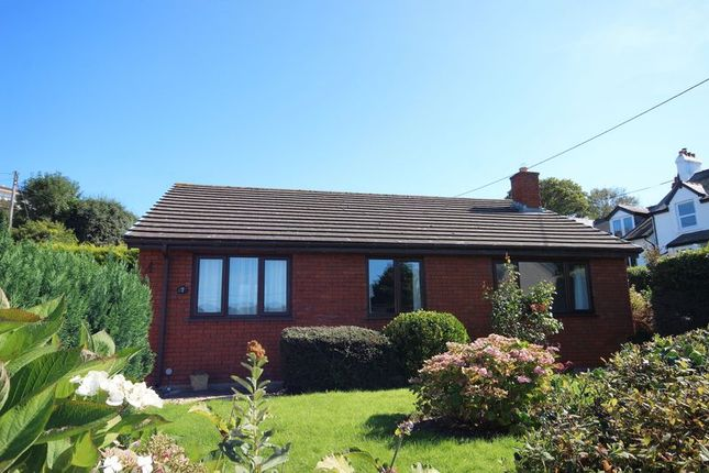 Thumbnail Detached bungalow for sale in West End, Glan Conwy, Colwyn Bay